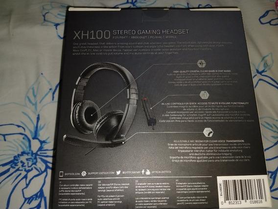Headset Fone De Ouvido Com Fio P2 3.5mm Gioteck Xh-100