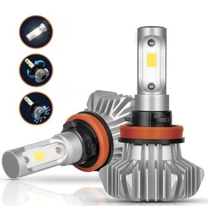 Kit Focos Luces Led H11 2 Piezas 3000 Lumenes Blanco