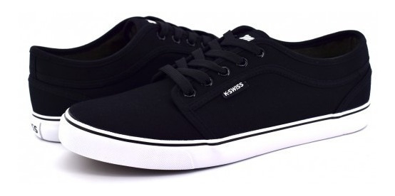 Tenis K-swiss 0f025 002 Black White Forest 25-30 Caballeros