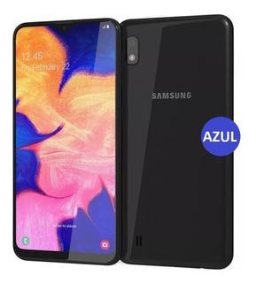 Samsung A10 Galaxy 32gb En Caja Dual Sim Incluye Vidrio Y Funda! Libres 3400mah