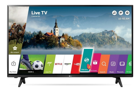 LG Smart Tv 43 Led Fhd 43lj5500 - Modelo 2017