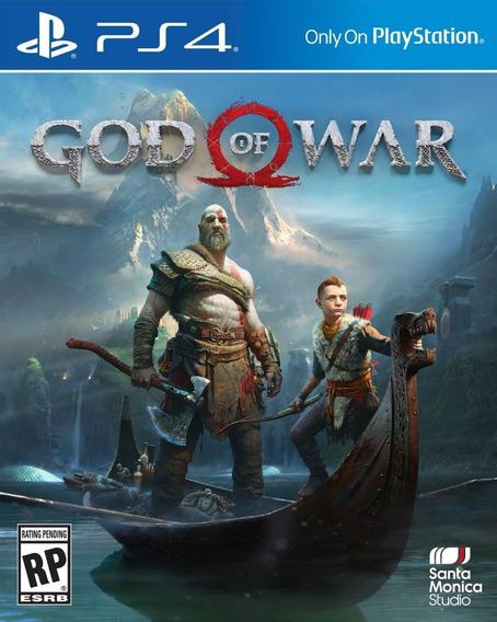God Of War Ps4 Original 2 Aluguel 15 Dias