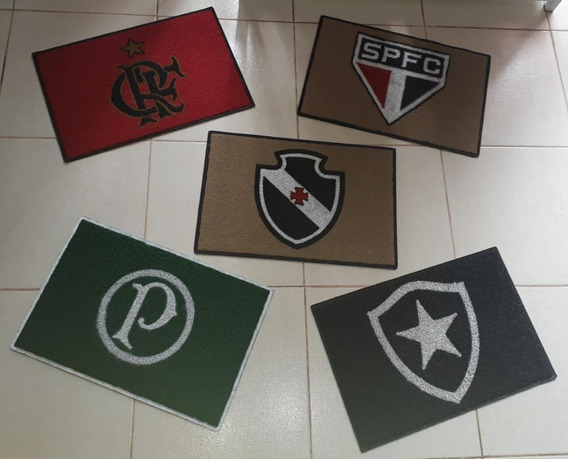 Tapete Capacho Flamengo 40cmx60cm
