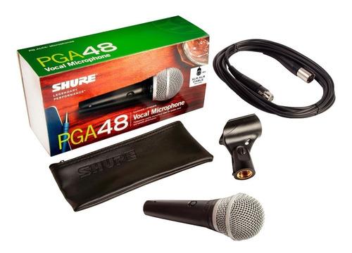 Imagen 1 de 6 de Micrófono Shure Pga48 Original Alambrico Profesional