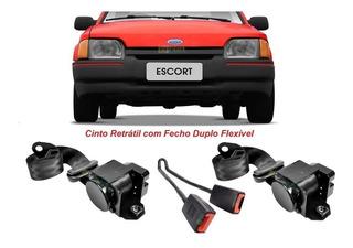 Kit Cinto Segurança Ford Escort Gl Dianteiro Completo