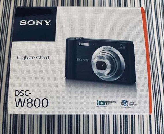 Kit De 3 Câmera Fotográfica Sony W800