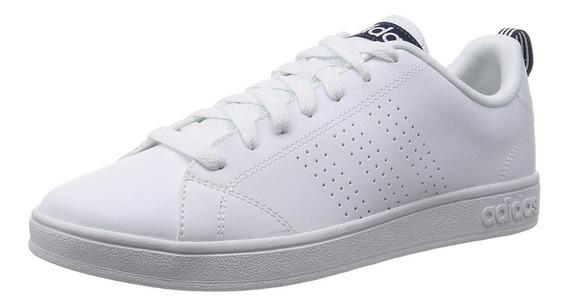 Tenis adidas Advantage Cl Color Blanco Caballero