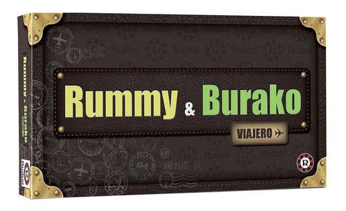 Juego de mesa Rummy & Burako Viajero Ruibal