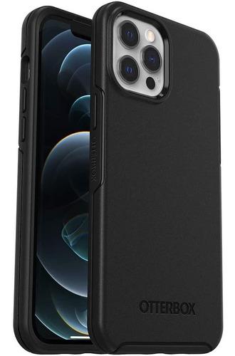 Imagen 1 de 5 de Otterbox Carcasa Symmetry iPhone 12 Pro Max Negro