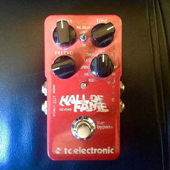 Pedal De Reverb Tc Electronic Hall Of Fame