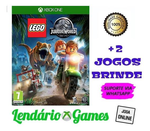 Lego Jurassic World X One M. Dig. + Brindes