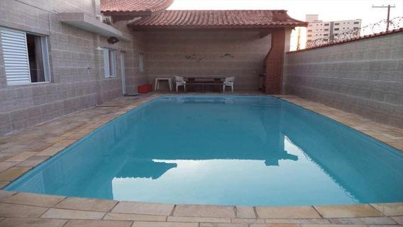 Casa Em Mirim, Praia Grande/sp De 190m² 6 Quartos À Venda Por R$ 850.000,00 - Ca169122