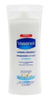 Crema Vasenol Recuperación Intensiva Sin Fragancía 400 Ml
