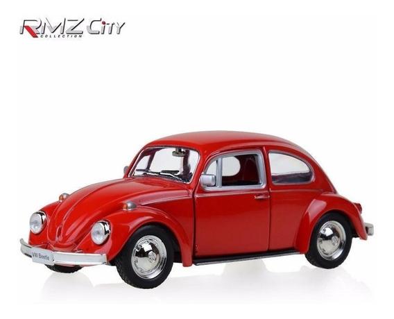 Miniatura Volkswagen Fusca 1967 Vermelho 1/32 - Frete Grátis