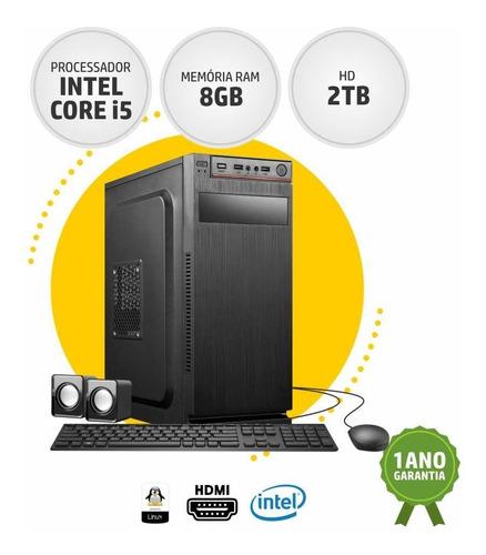 Cpu Barato Intel Core I5 8gb Ram 2tb Hd Best Boy Linux