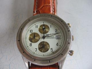 Reloj John L. Cook Cronografo Funcionando!!!