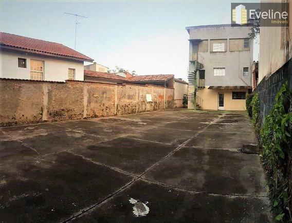 Terreno A Venda No Centro - Poá 10x32 At E 640m² Ac R$ 700 Mil - V482