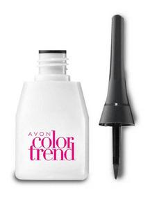 Delineador Líquido Preto Para Olhos Color Trend Avon