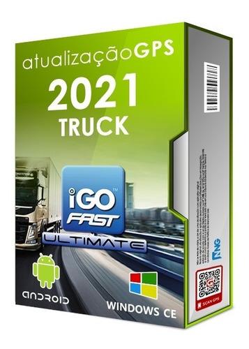 Atualização Gps Igo Primo Truck Para Caminhão