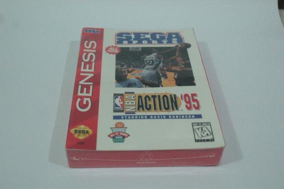 Nba Action 95 Mega Drive Novo Lacrado Original Frete Gratis
