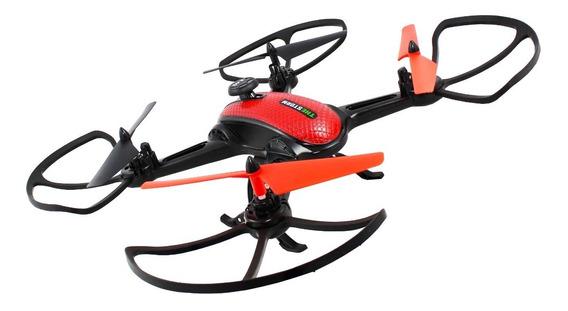 Drone Quadricoptero Espiao Intruder Com Camera E Controle