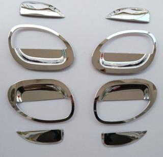 Apliques Manijas Cromadas Renault Kwid X 8 Piezas - Importa