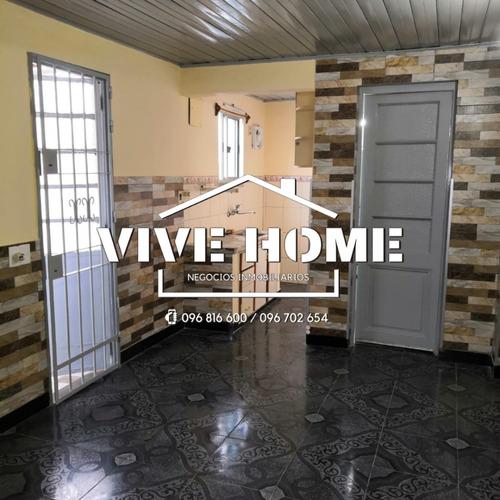 Alquiler Casa 2 Dormitorios Con Cochera Cerrito