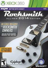 Rocksmith 2014 Edition (cabo Não Incluido) - Xbox 360