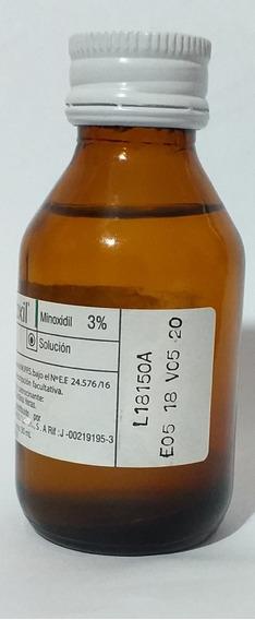 Minoxidil 3% Caida Cabello, Cejas Barbas