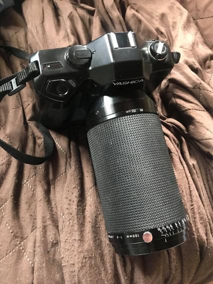 Câmera Analógica 35mm Yashica Data Back Da -1 No Estado