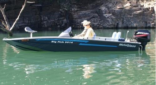 Metalglass Big Fish 5014 Sport - 0 Km - Somente O Casco!!