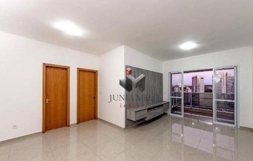 Imagem 1 de 22 de Apartamento Com 3 Dormitórios À Venda, 120 M² Por R$ 680.000,00 - Jardim Irajá - Ribeirão Preto/sp - Ap2037