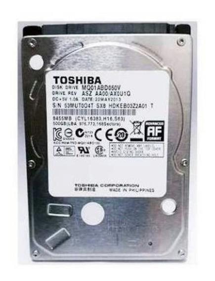 Hd Notebook 9mm 7mm 500 Gb Sata2 Wd Seagate Toshiba 2,5