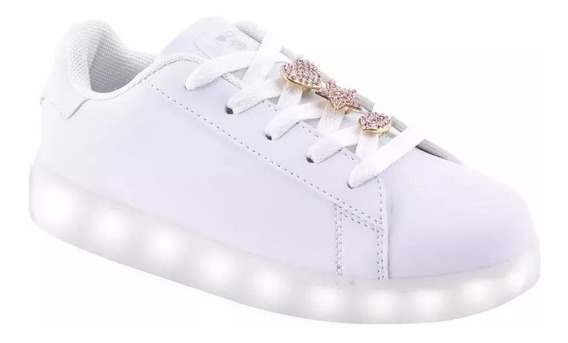 Zapatillas Footy 47 Street Luz Led Pines 47stl151 Cbl