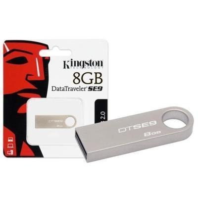 Pen Drive Kingston 16gb Usb 3.0, Dtse9g2 Prata Novo Excelent
