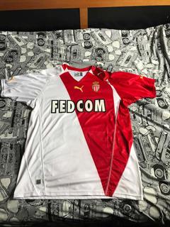 Camisa Do Mônaco- Original E Com Etiqueta- Raríssima