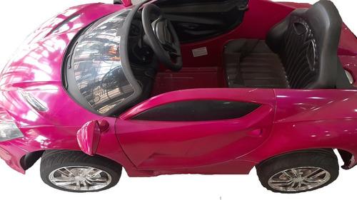 Carro Recargable Montable Para Niñas