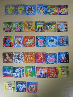 Pokémon Tazos Cards Jokenpo