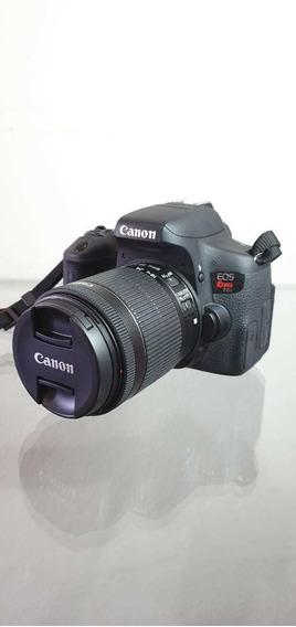 Câmera Canon T6i + Acessórios