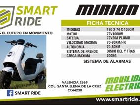 Smart Moto Electrica Minio