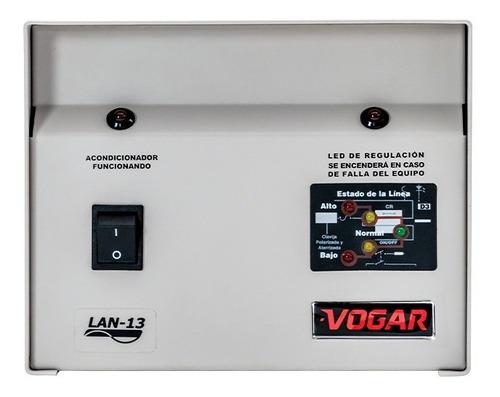 Regulador Electrónico De Voltaje Vogar® Monofásico 3 Kva
