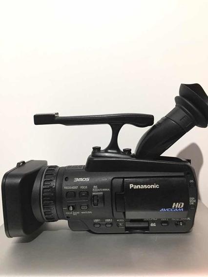 Filmadora Panasonic Hmc40 Linha Profissional. C/acessórios