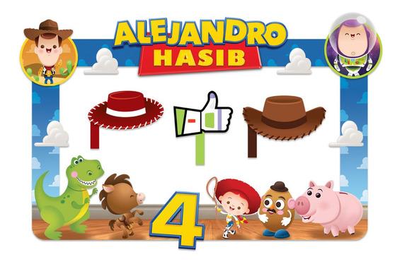 Marco Para Fiestas Selfies!!! Diseño Toy Story 2!!!
