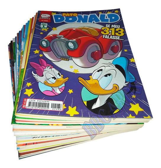 18 Gibis Disney Pato Donald Novos Sem Repetição Ed. Abril