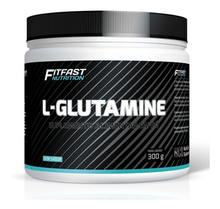Glutamina Fitfast 300g L-glutamine - Fitfast Nutrition