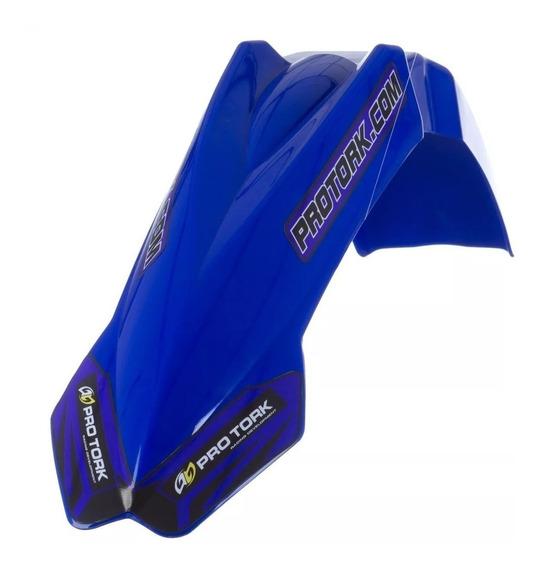 Paralama Dianteiro Mx2 Pro Tork Universal Azul