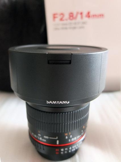 Lente Samyang 14/2.8 Nikon - Ultra-wide - Super Nova