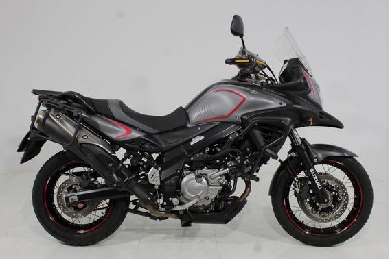 Suzuki V Strom 650 Abs 2018 Cinza