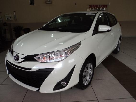 Toyota Yaris 1.3 Xl 16v Cvt 5p 2019/2020 Branco Perolizado