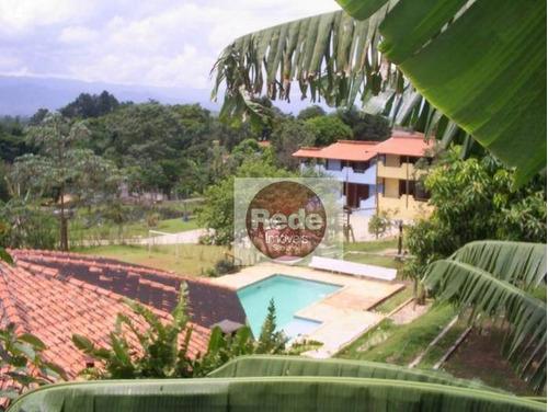 Chácara Com 17 Dormitórios À Venda, 7000 M² Por R$ 2.100.000,00 - Solar Da Mantiqueira - Tremembé/sp - Ch0079